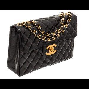 Chanel jumbo XL flap bag